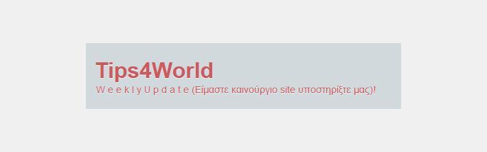 Tips4World